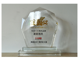 新浪-网易金翼奖2011年度十大移民品牌