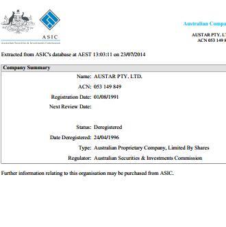 1992年澳星创建于澳洲
