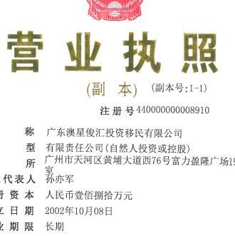 2002年澳星上海、苏州、广州、杭州等获第一批牌照