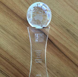 2013年澳星荣获澳洲华裔杰出精英奖