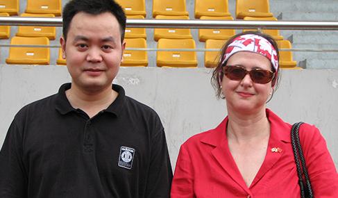 澳星副总裁George与加拿大上海总领事